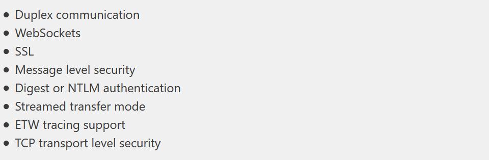 微软 .NET Foundation开源项目 开放WCF服务框架代码