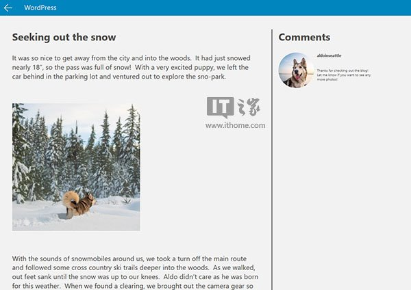 微软新工具:WordPress博客轻松变身Win10应用